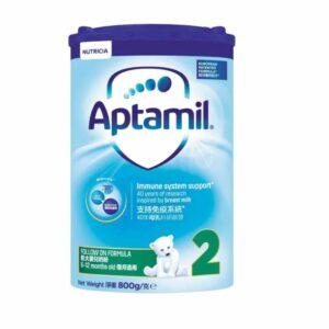 Aptamil| 奶粉紙盒版2號