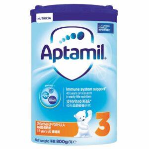 Aptamil| 奶粉紙盒版3號