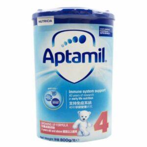 Aptamil| 奶粉紙盒版4號