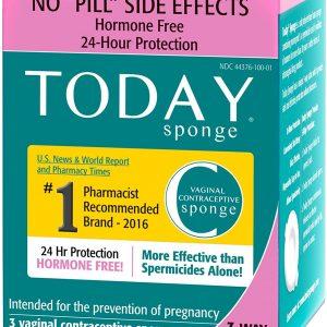 Today Sponge|女性避孕棉|24小時內多次性行為同樣有效