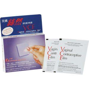 絲然 VCF|溶性避孕軟膜 6片裝 (美國製造)