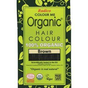 染得好有機草本染髮劑棕色