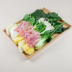 味噌肉片鍋