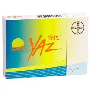 YAZ優悅 避孕藥 28粒
