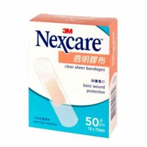 3M Nexcare 透明膠布 50片